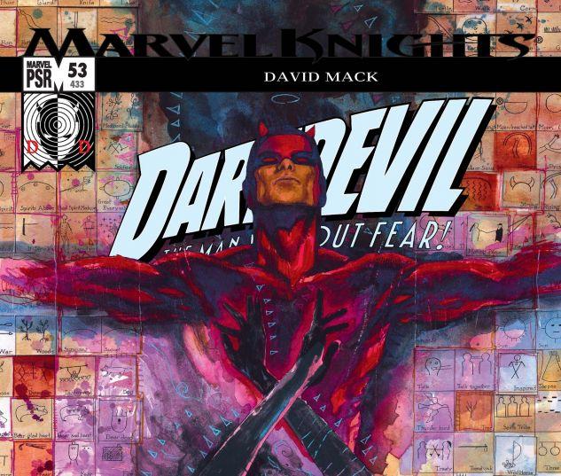DAREDEVIL (1998) #53 Cover