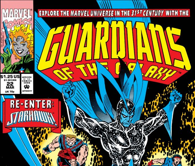 Guardians of the Galaxy (1990) #22