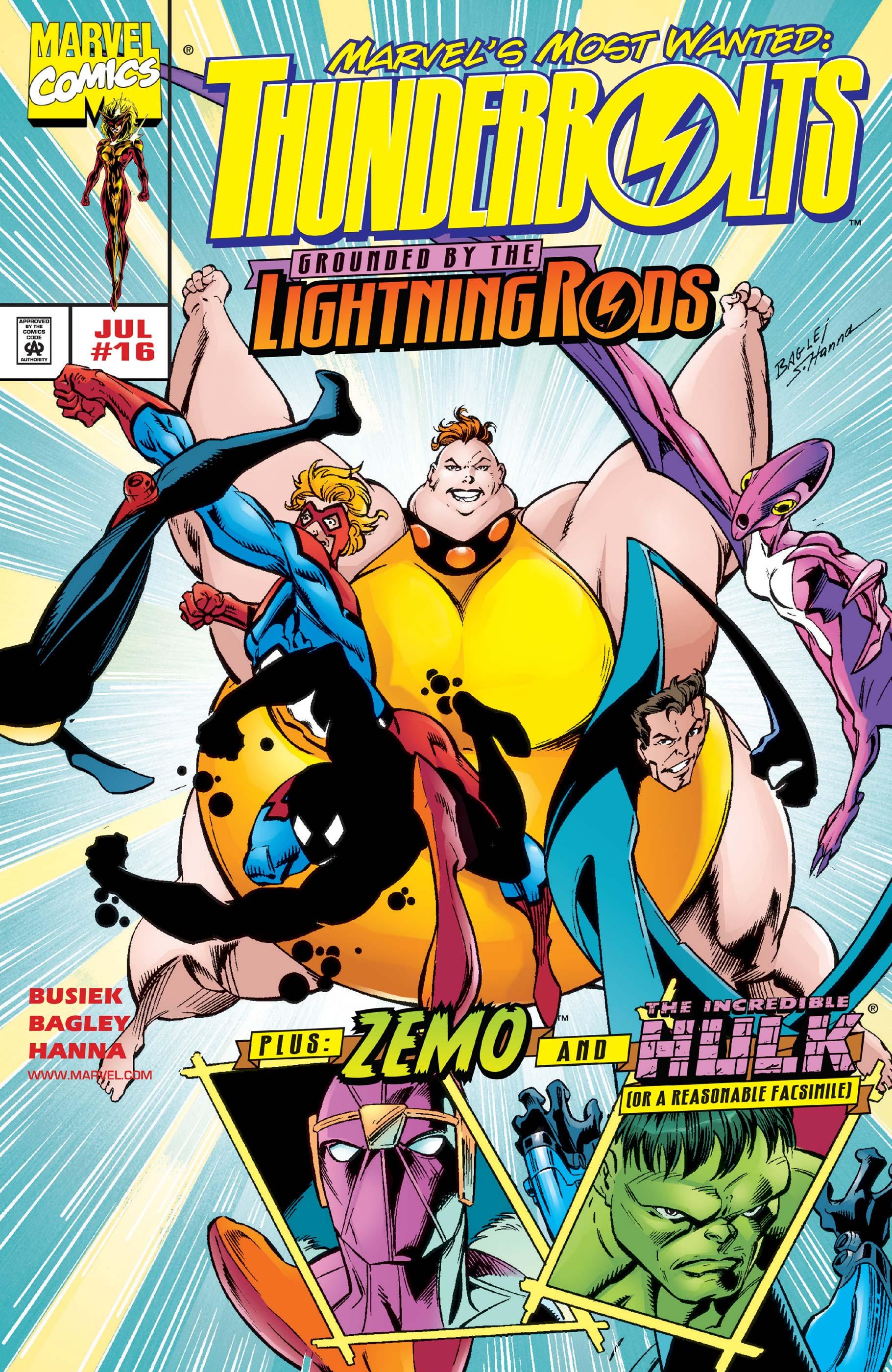 Thunderbolts (1997) #16