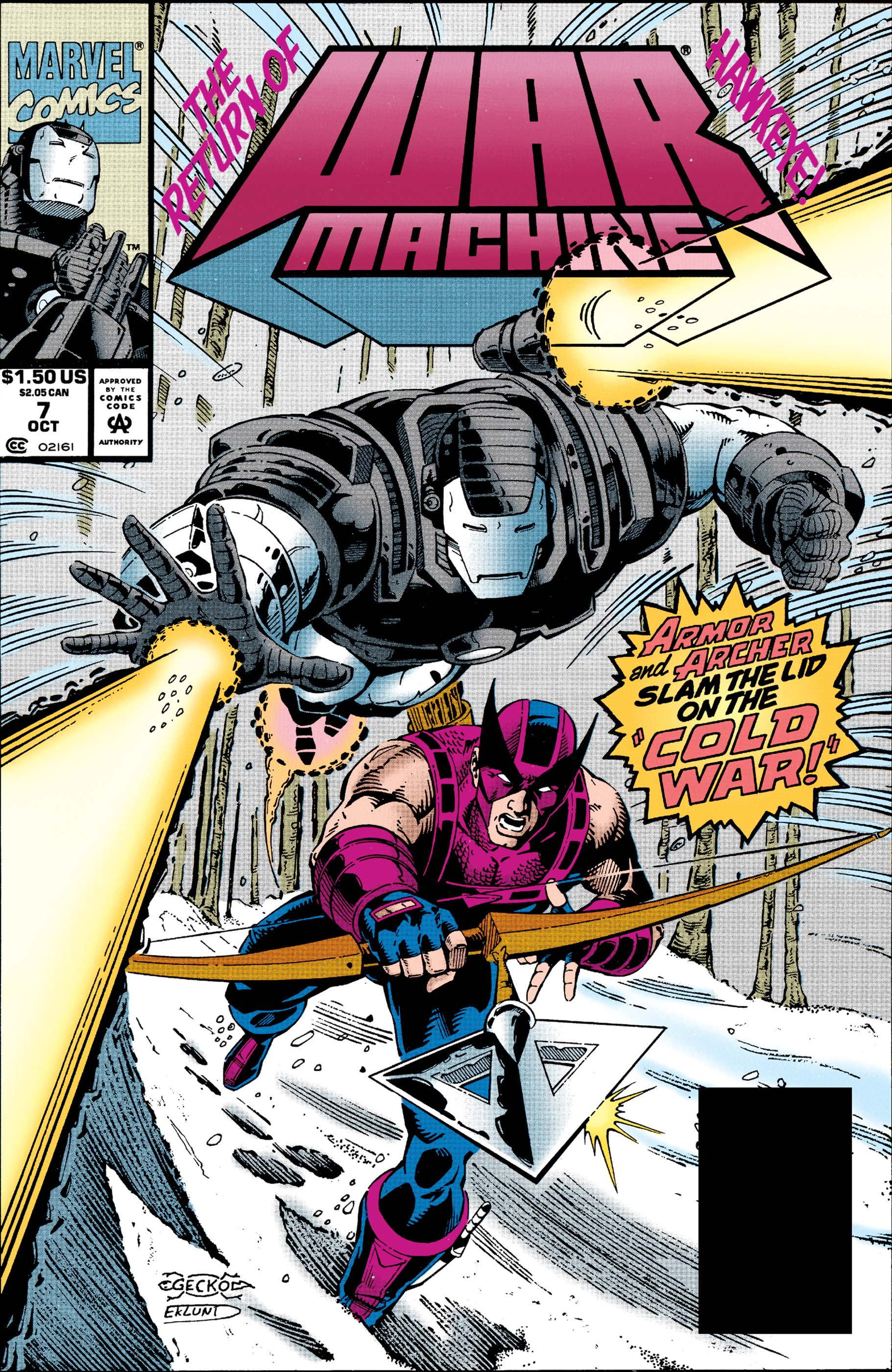War Machine (1994) #7