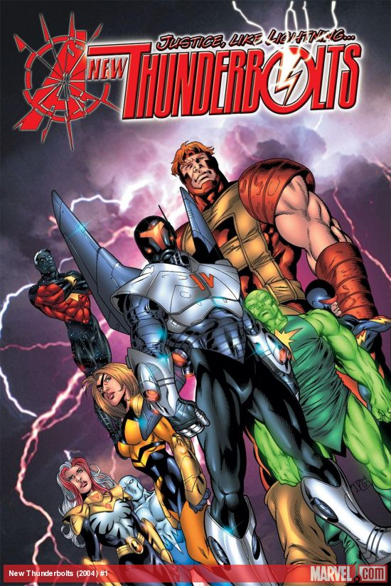 New Thunderbolts (2004) #1