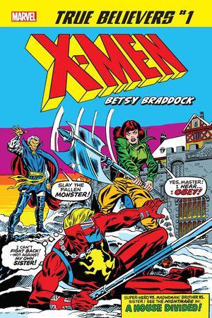 True Believers: X-Men - Betsy Braddock #1