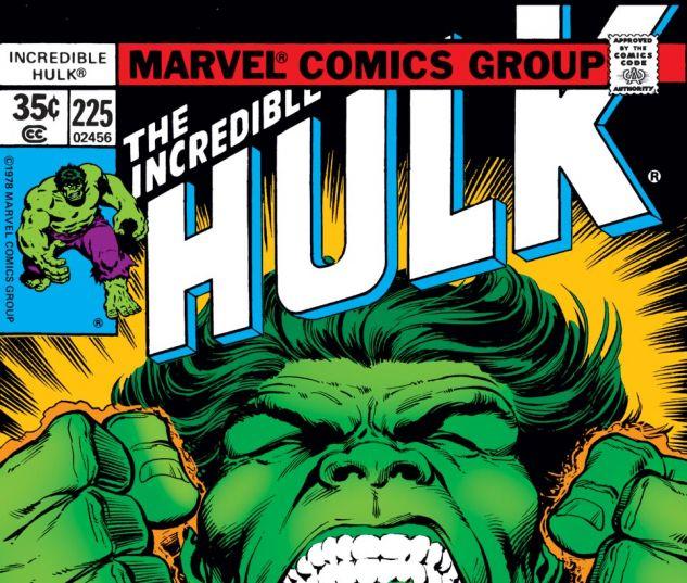 Incredible Hulk (1962) #225 Cover