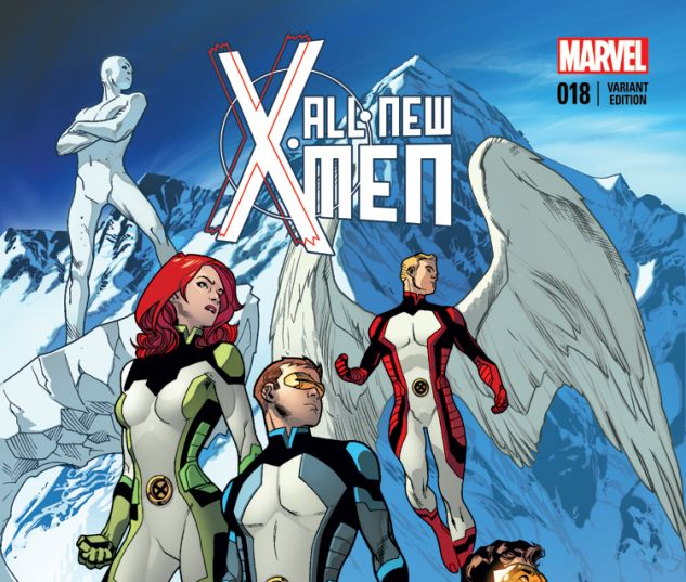 ALL-NEW X-MEN 18 IMMONEN VARIANT (WITH DIGITAL CODE)