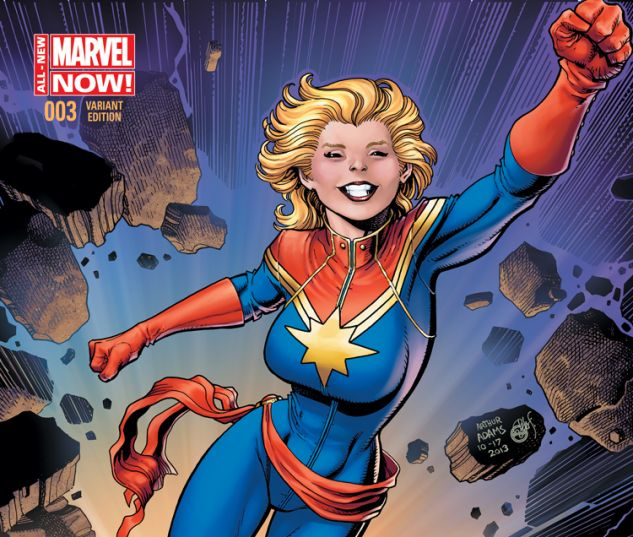 CAPTAIN MARVEL 3 ADAMS VARIANT (ANMN, WITH DIGITAL CODE)