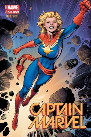 Captain Marvel (2014) #3 (Adams Variant)