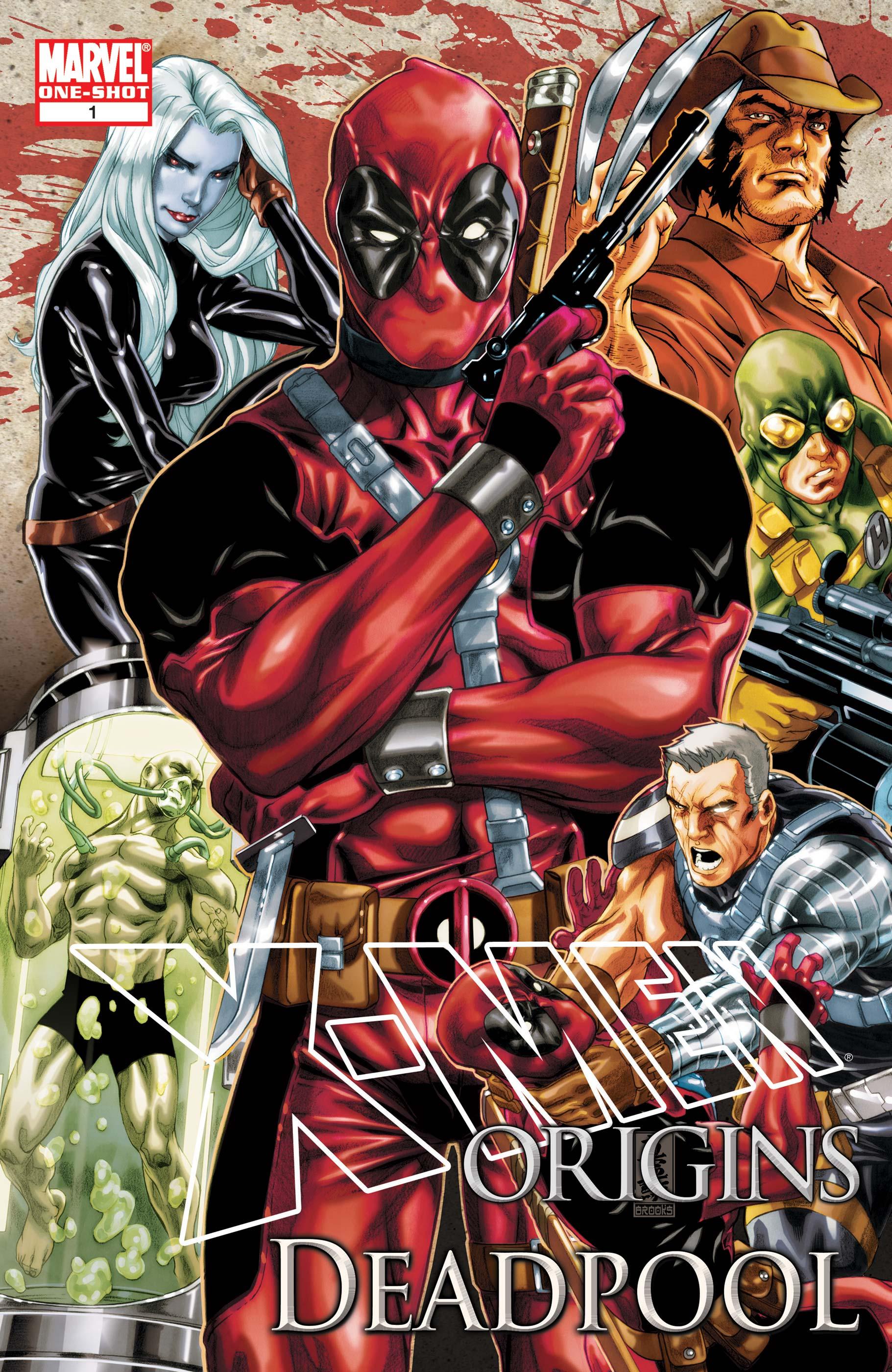 X-Men Origins: Deadpool (2010) #1