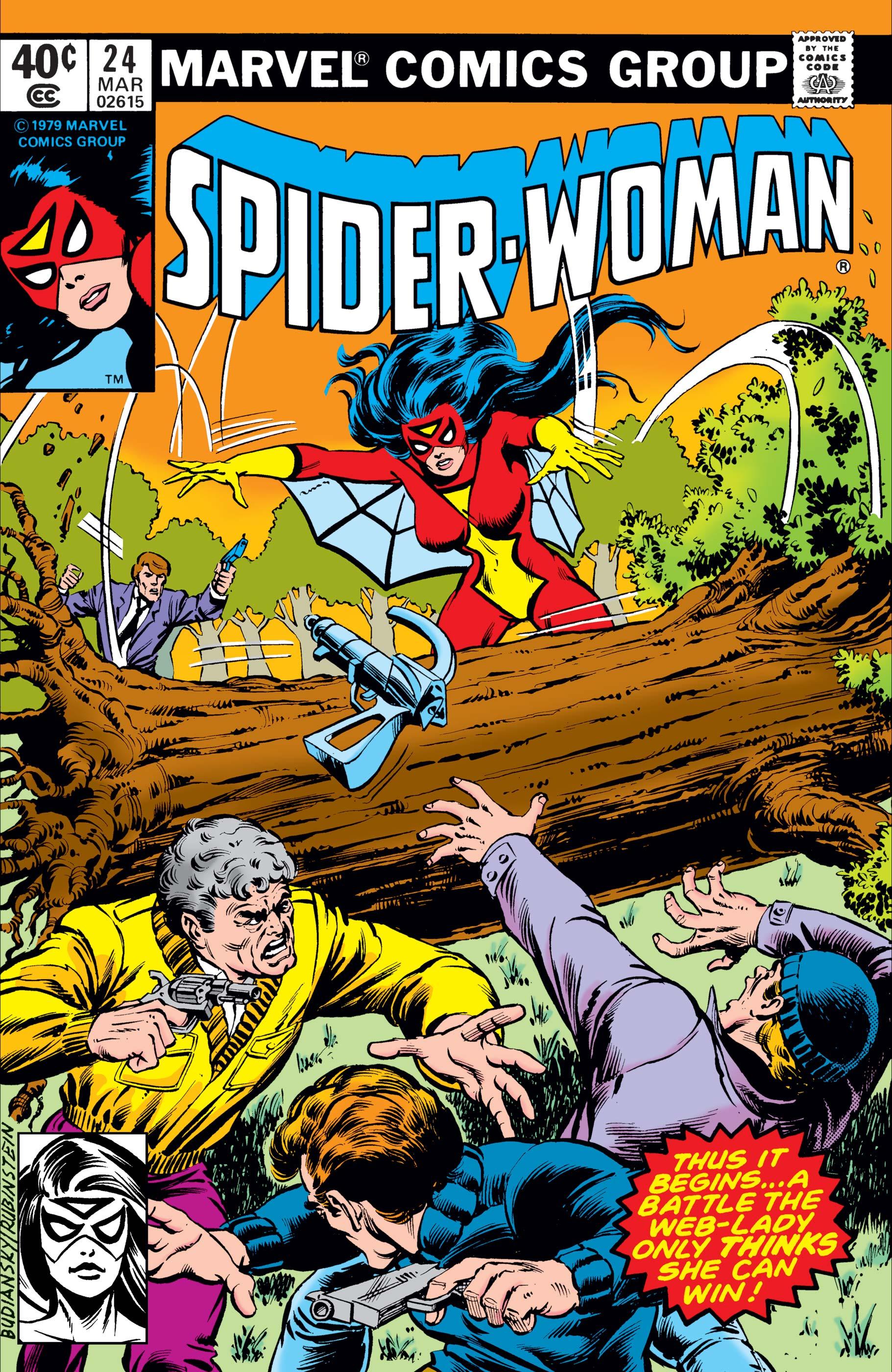 Spider-Woman (1978) #24