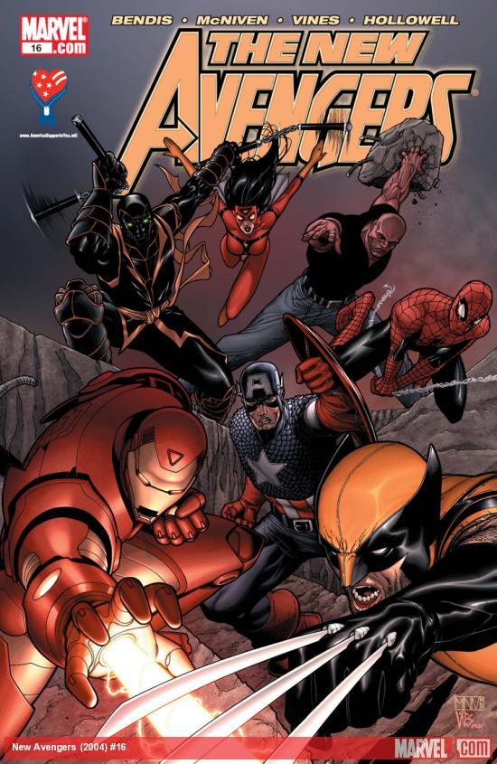New Avengers (2004) #16