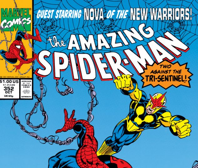 Amazing Spider-Man (1963) #352 Cover