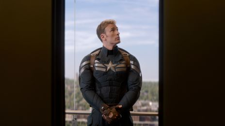 Chris Evans returns as Steve Rogers in Marvel's Captain America: The Winter Soldier