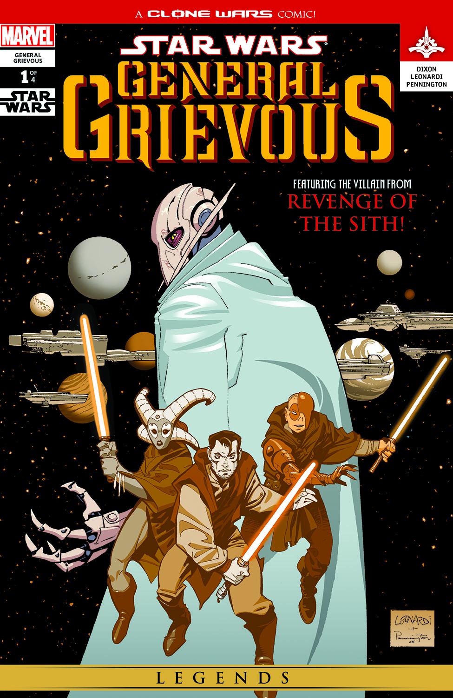 Star Wars: General Grievous (2005) #1