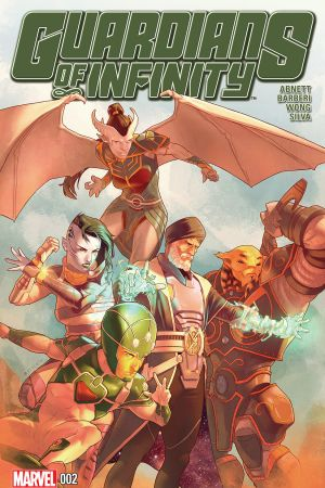 Guardians of Infinity (2015) #2