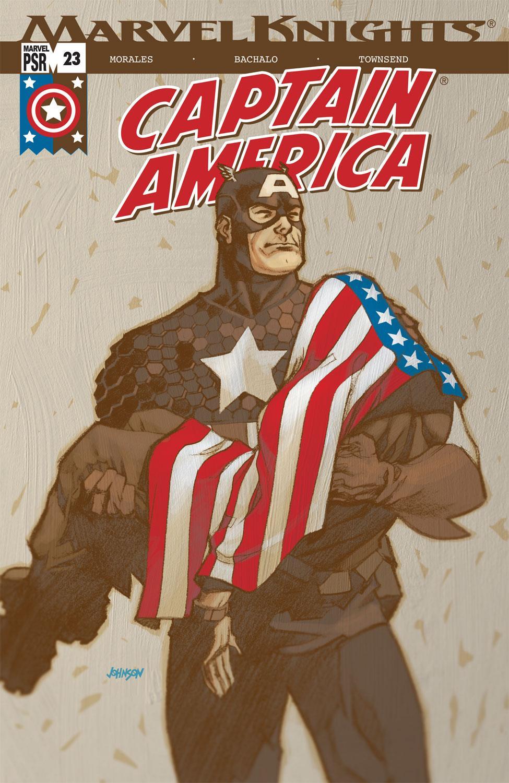 Captain America (2002) #23