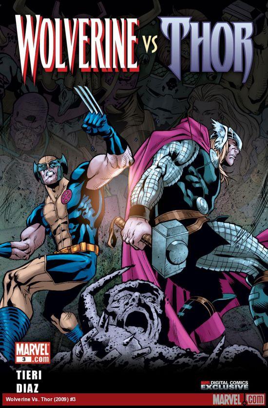 Wolverine Vs. Thor (2009) #3