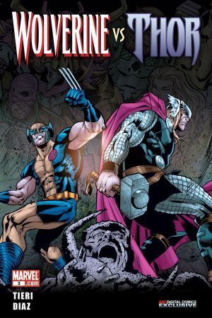 Wolverine Vs. Thor #3