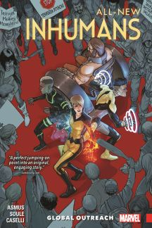 ALL-NEW INHUMANS VOL. 1: GLOBAL OUTREACH (Trade Paperback)