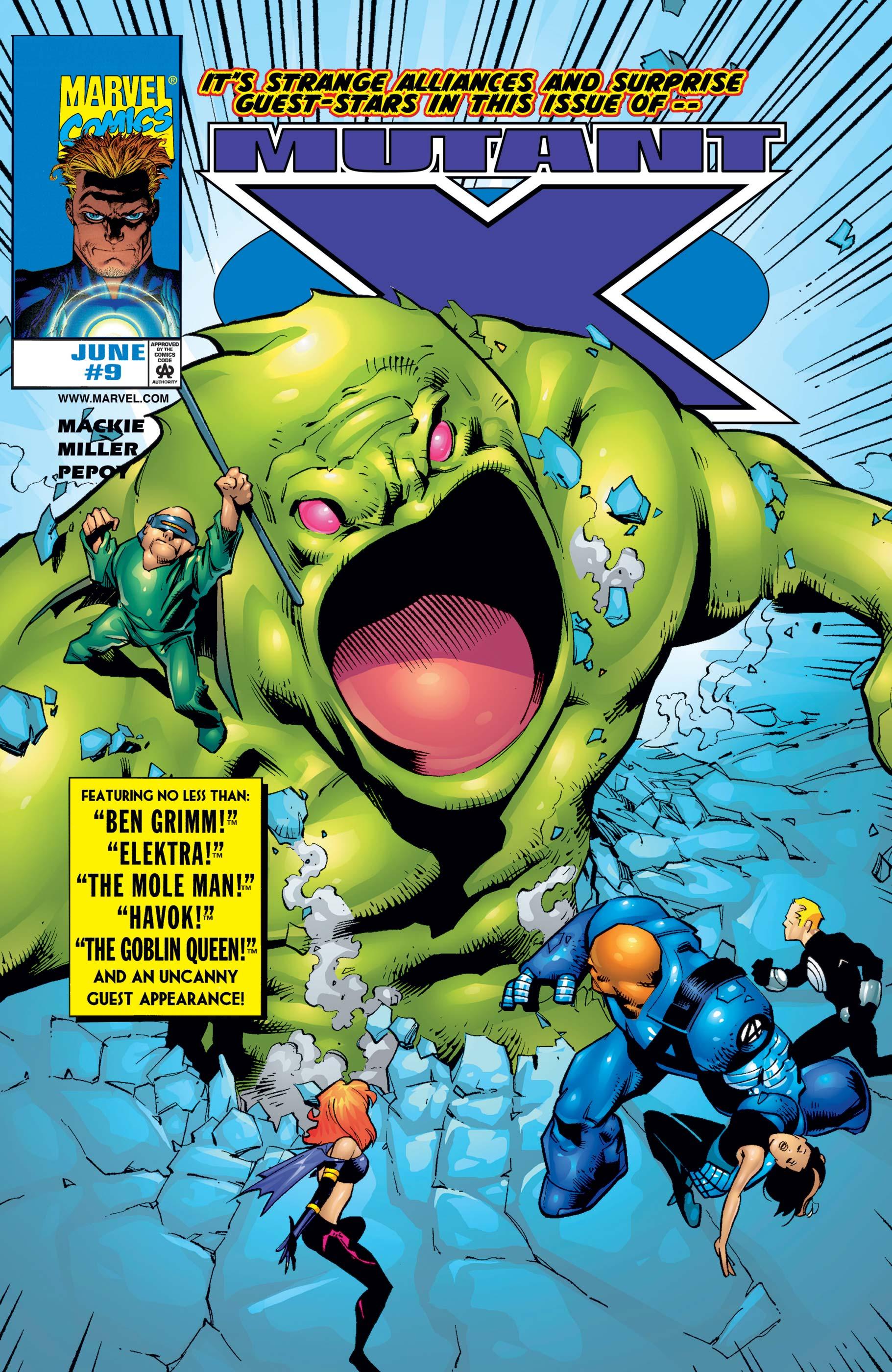 Mutant X (1998) #9