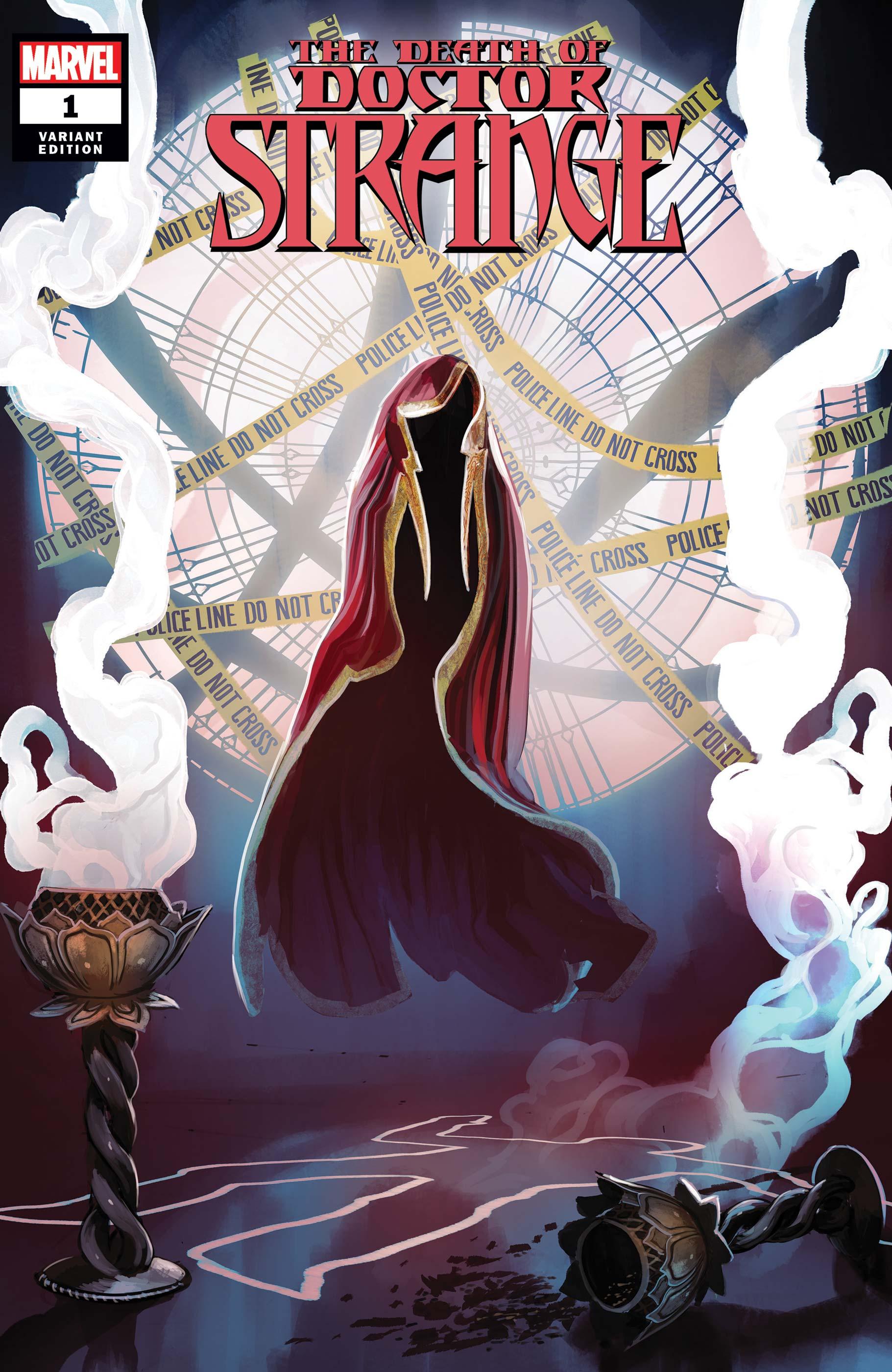 Death of Doctor Strange (2021) #1 (Variant)