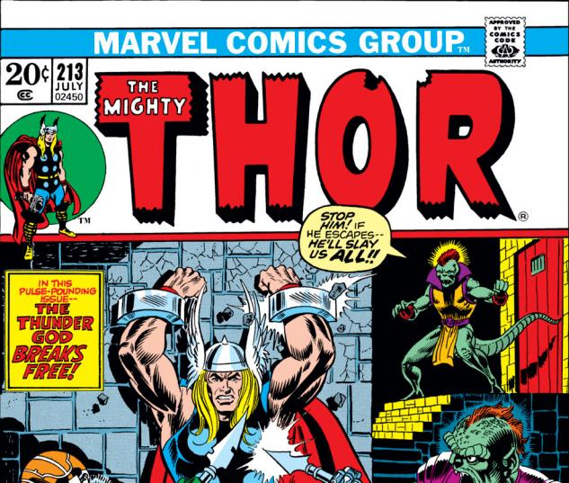 Thor (1966) #213 Cover