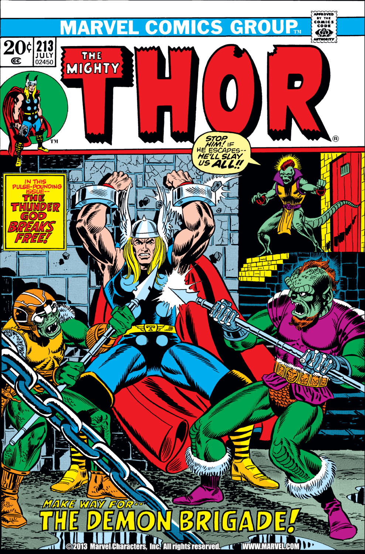 Thor (1966) #213