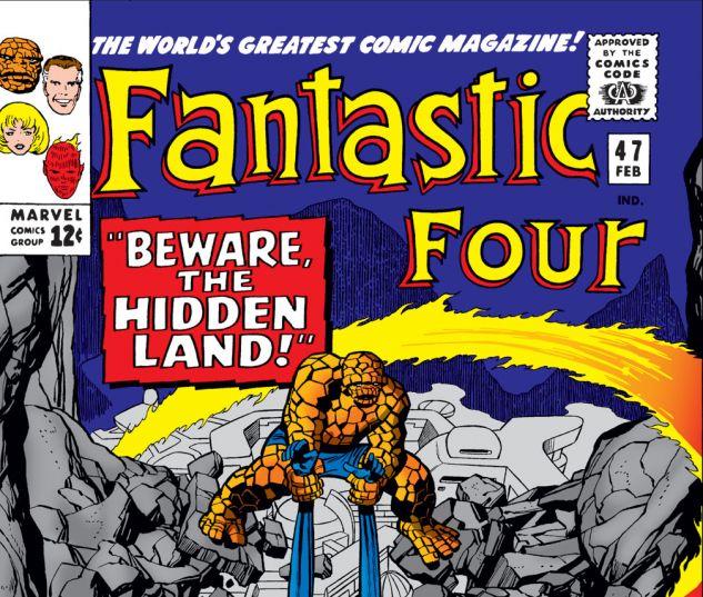 Fantastic Four (1961) #47 Cover
