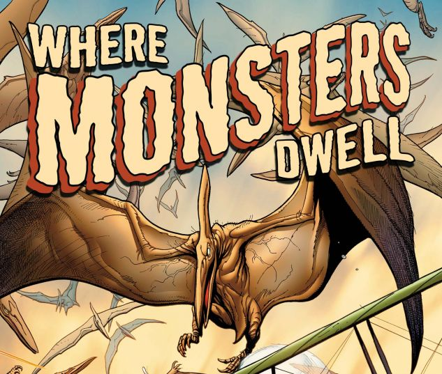 Where Monsters Dwell #1 cover by Frank Cho