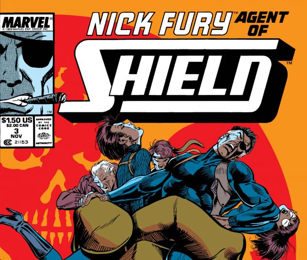 Nick Fury, Agent of Shield (1989) #3