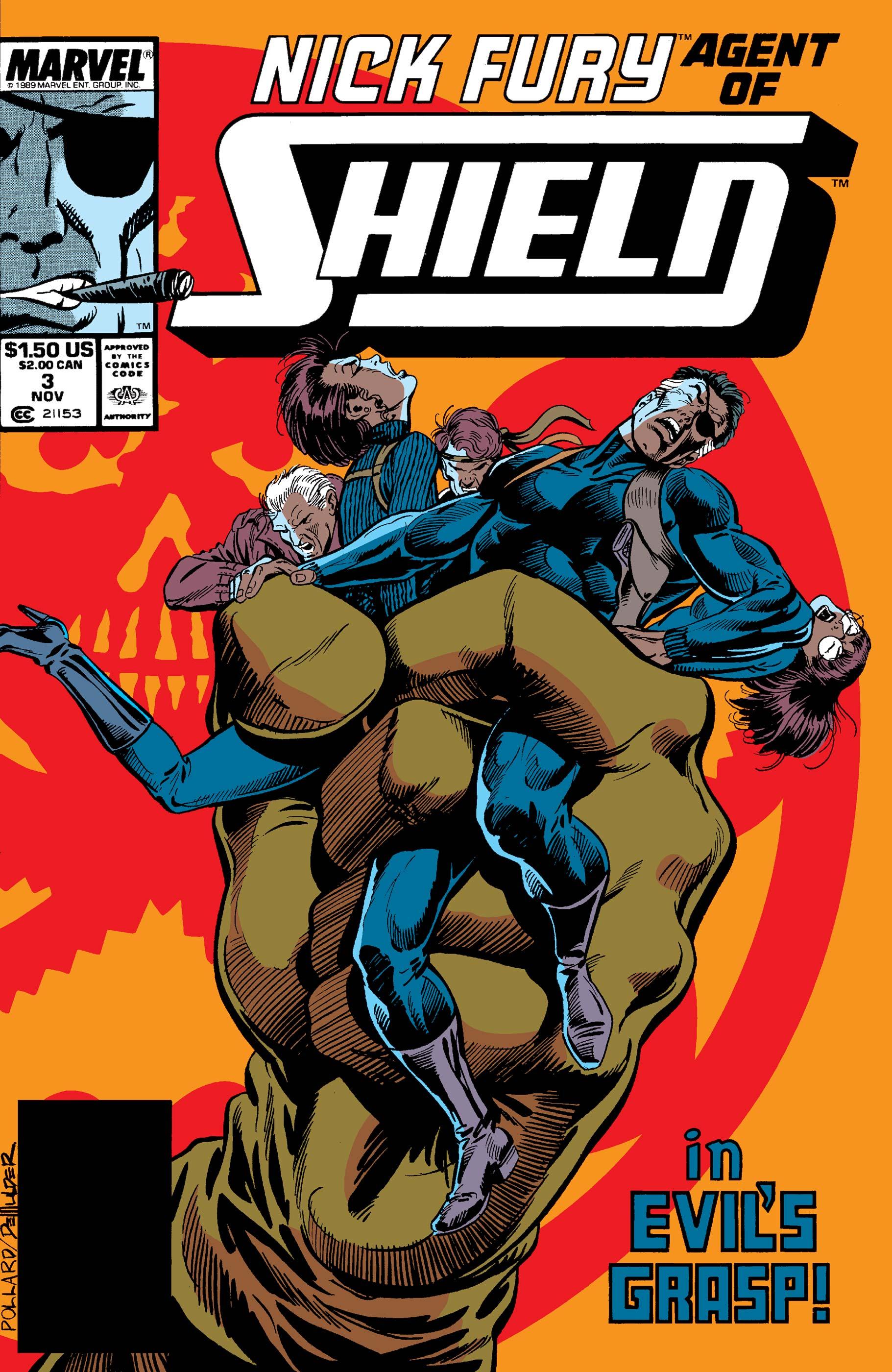 Nick Fury, Agent of S.H.I.E.L.D. (1989) #3