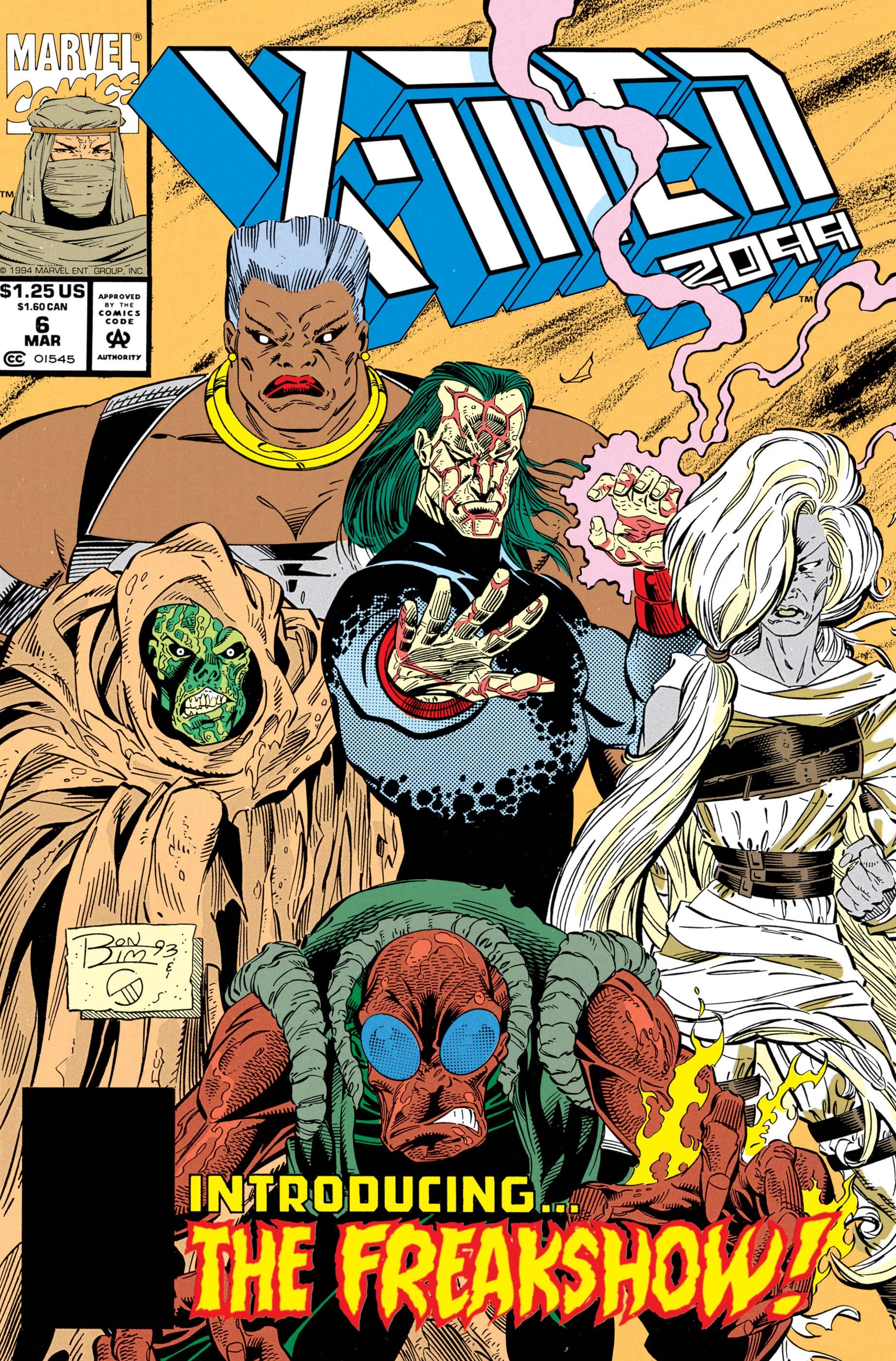 X-Men 2099 (1993) #6