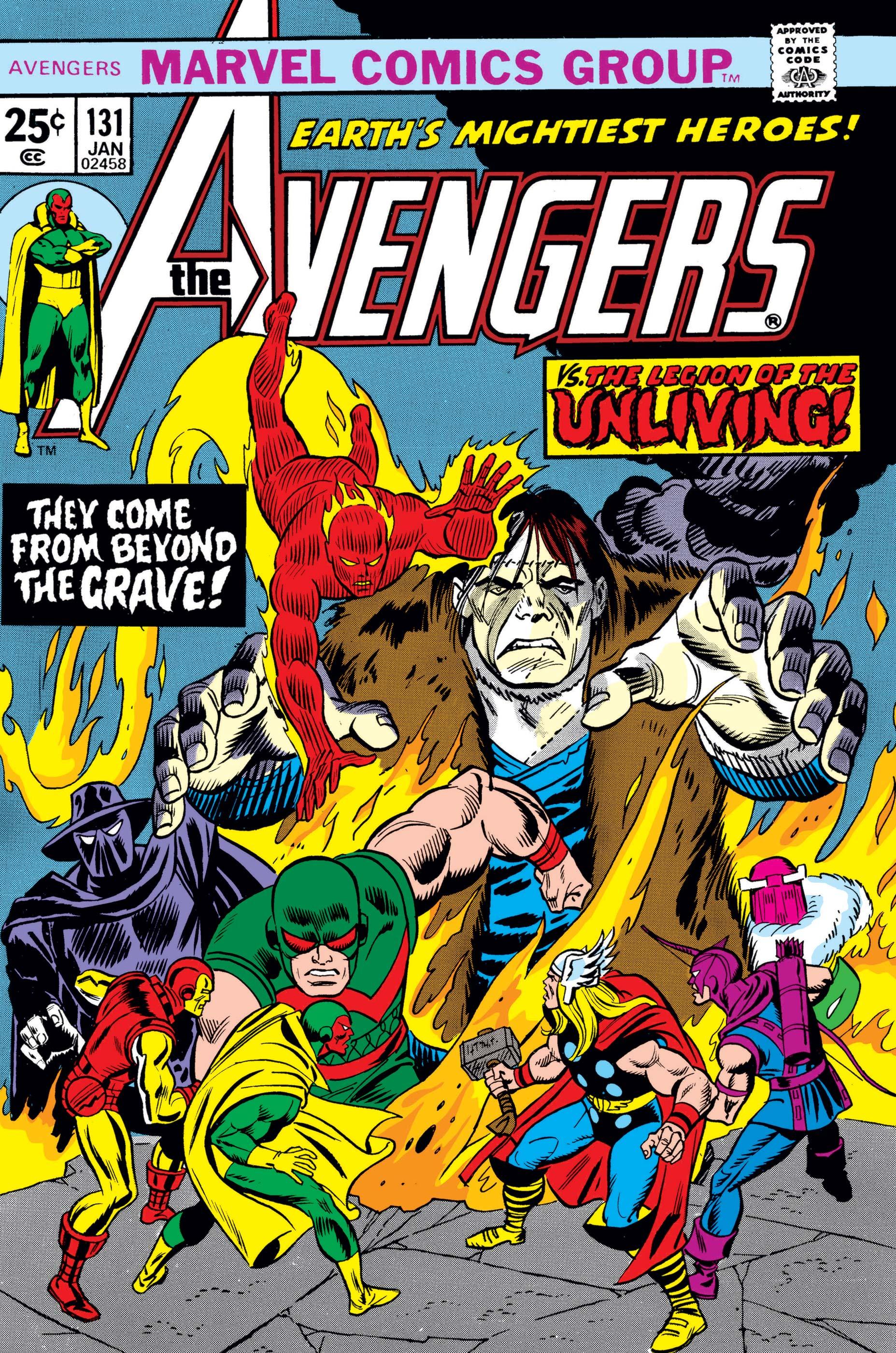 Avengers (1963) #131