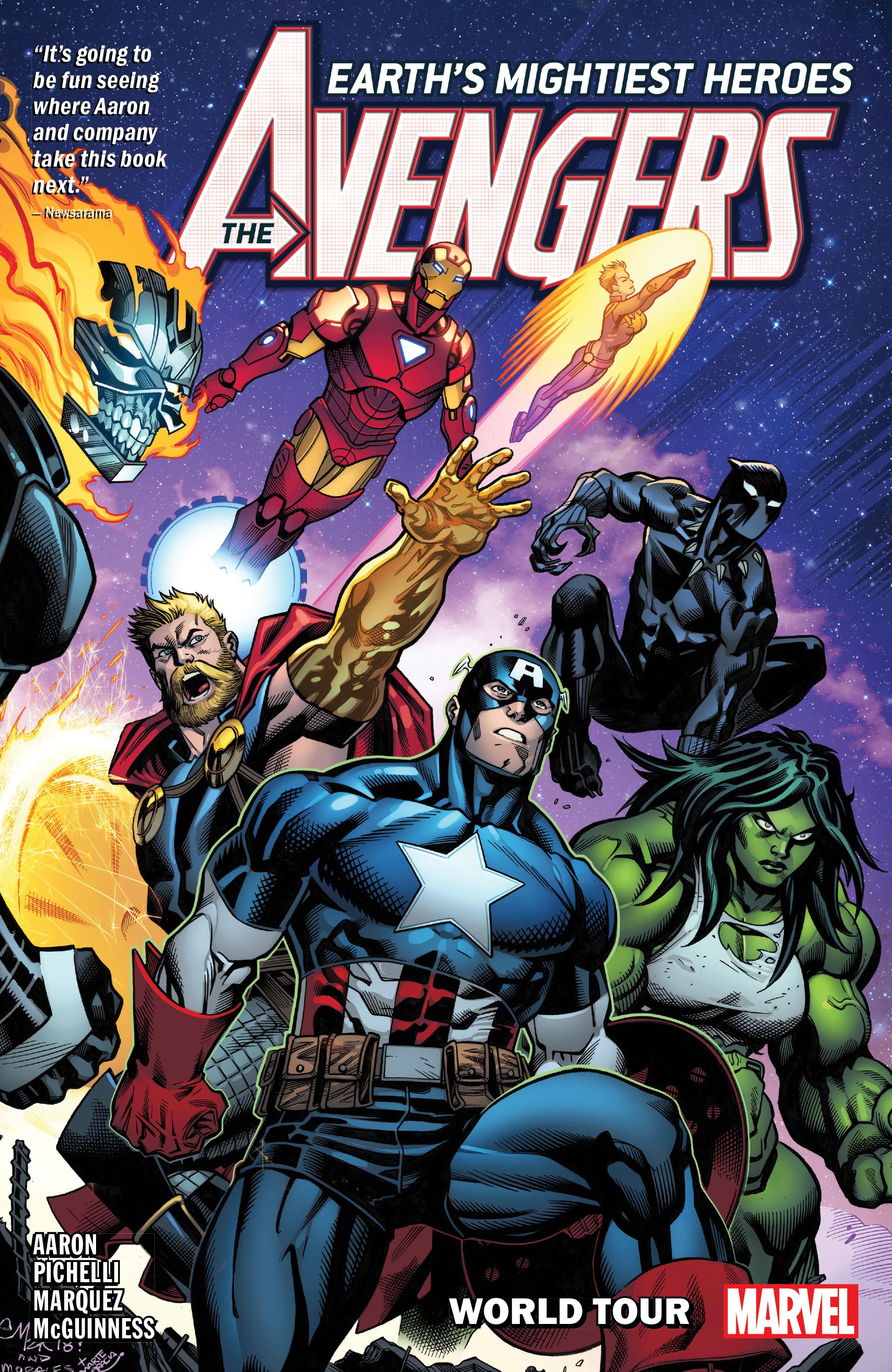 Avengers By Jason Aaron Vol. 2: World Tour (Trade Paperback)