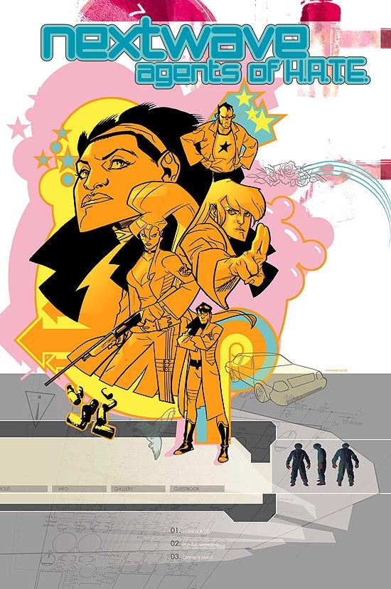 Nextwave: Agents of H.a.T.E. (2006) #10