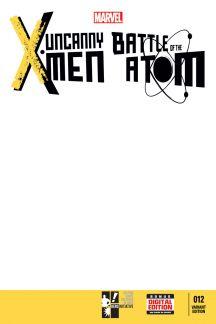 Uncanny X-Men (2013) #12 (Hero Initiative Blank Cover Variant)