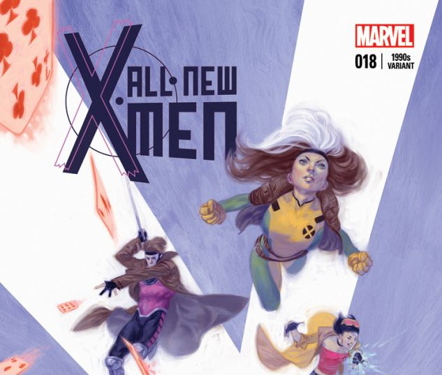 ALL-NEW X-MEN 18 TEDESCO 90S VARIANT (WITH DIGITAL CODE)