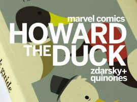 Howard the Duck #1 variant cover by Chip Zdarsky