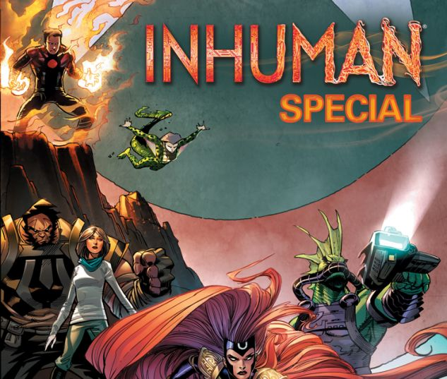 INHUMAN SPECIAL 1 KUBERT CONNECTING VARIANT (WITH DIGITAL CODE)