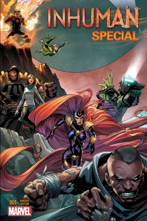 Inhuman Special (2015) #1 (Kubert Connecting Variant)