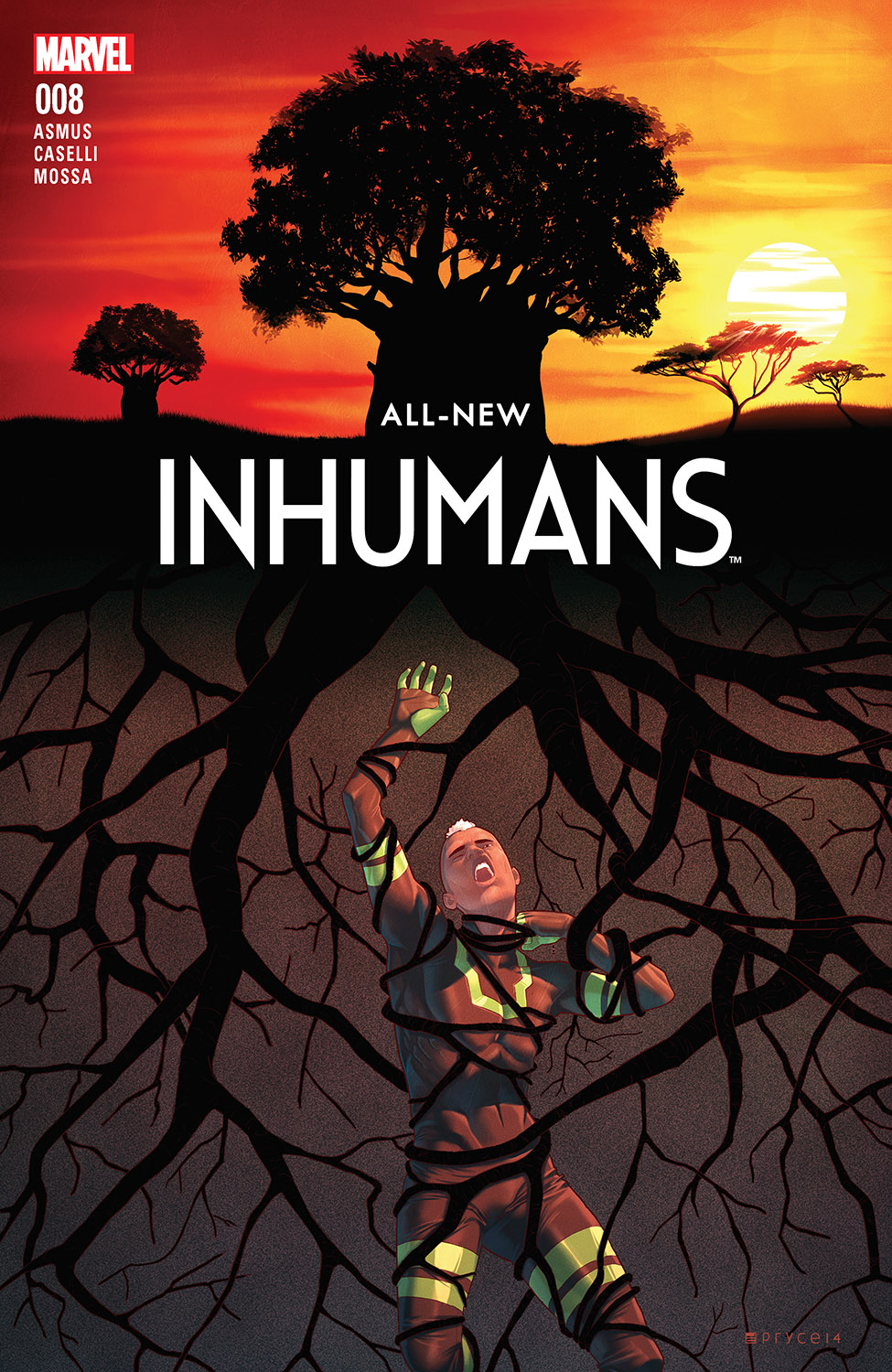 All-New Inhumans (2015) #8