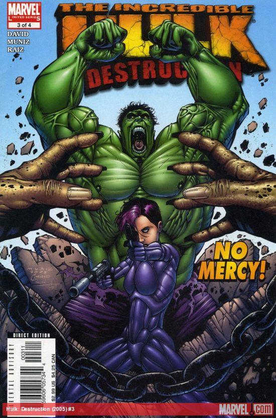 Hulk: Destruction (2005) #3