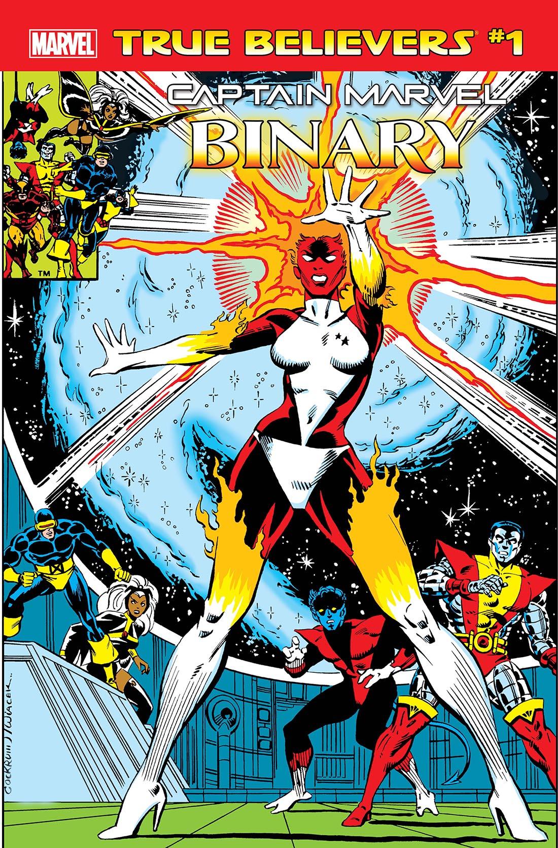 True Believers: Captain Marvel - Binary (2019) #1