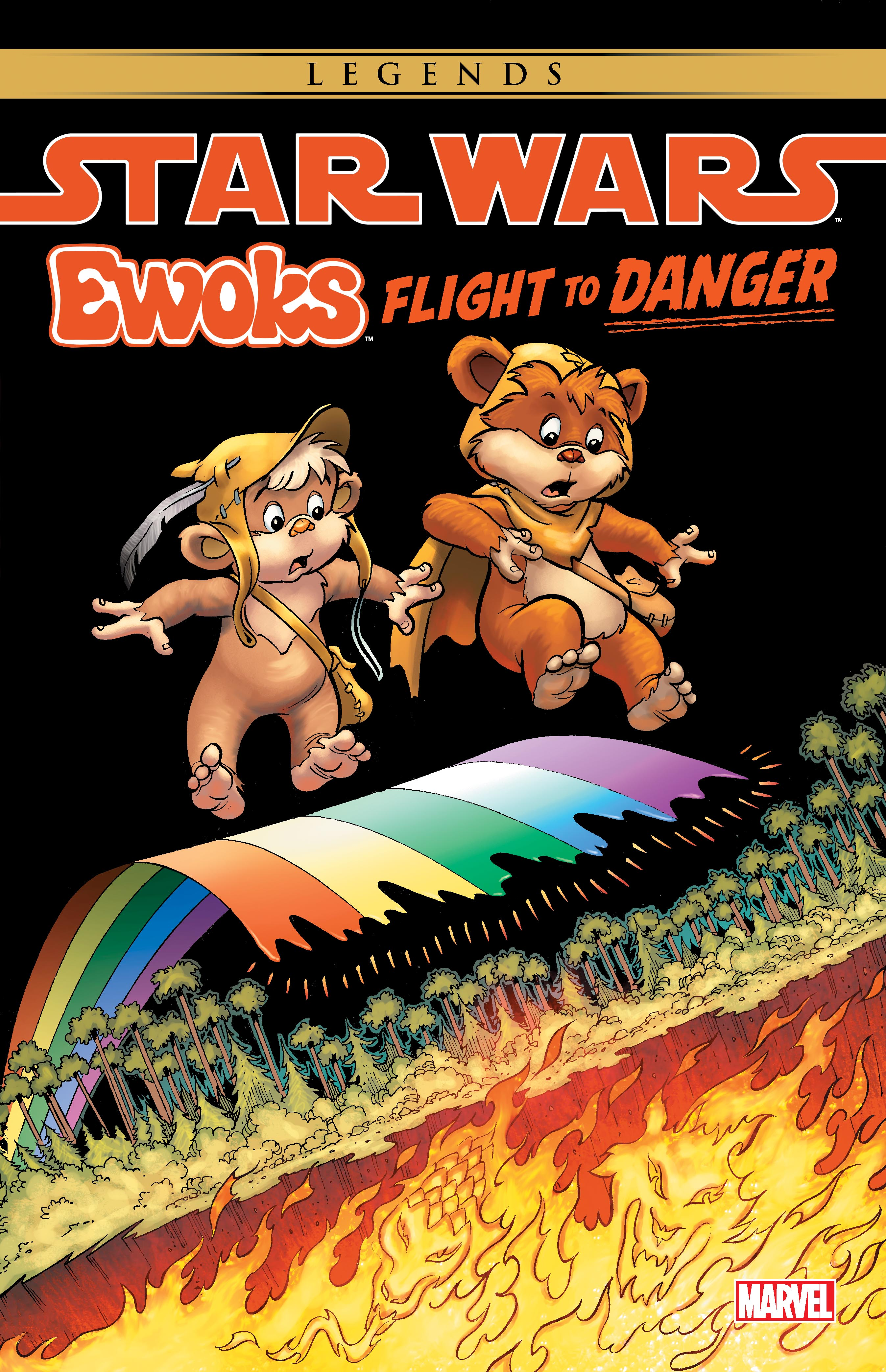 Star Wars: Ewoks - Flight To Danger (Trade Paperback)