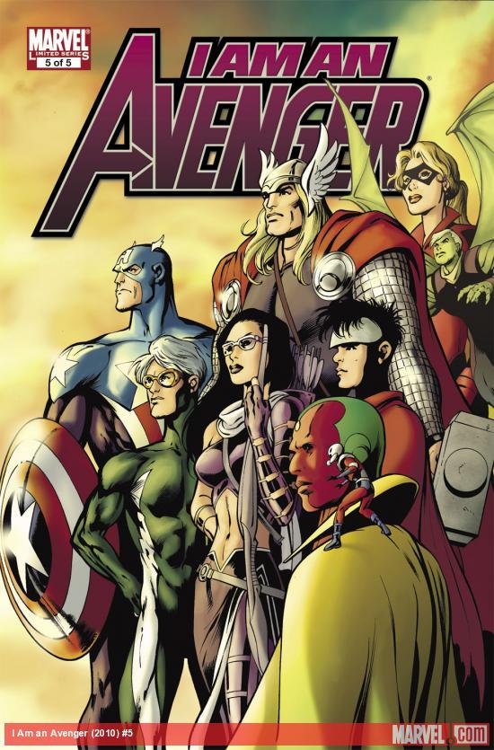 I Am an Avenger (2010) #5