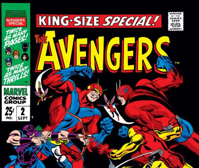 Avengers Annual (1967) #2