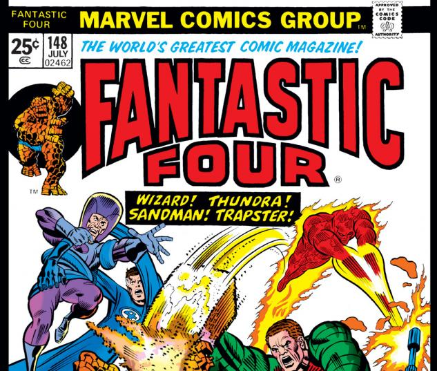 Fantastic Four (1961) #148 Cover