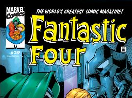 Fantastic Four (1998) #29 Cover