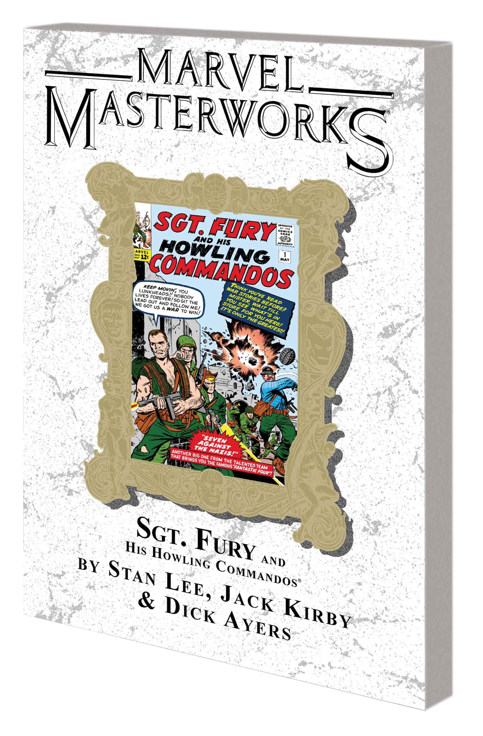 MARVEL MASTERWORKS: SGT. FURY VOL. 1 TPB VARIANT (DM ONLY) (Trade Paperback)