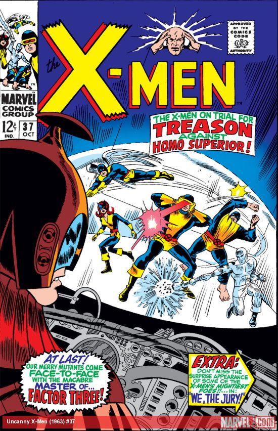 Uncanny X-Men (1963) #37