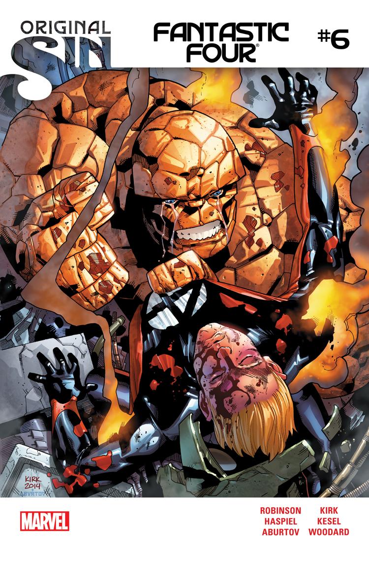 Fantastic Four (2014) #6