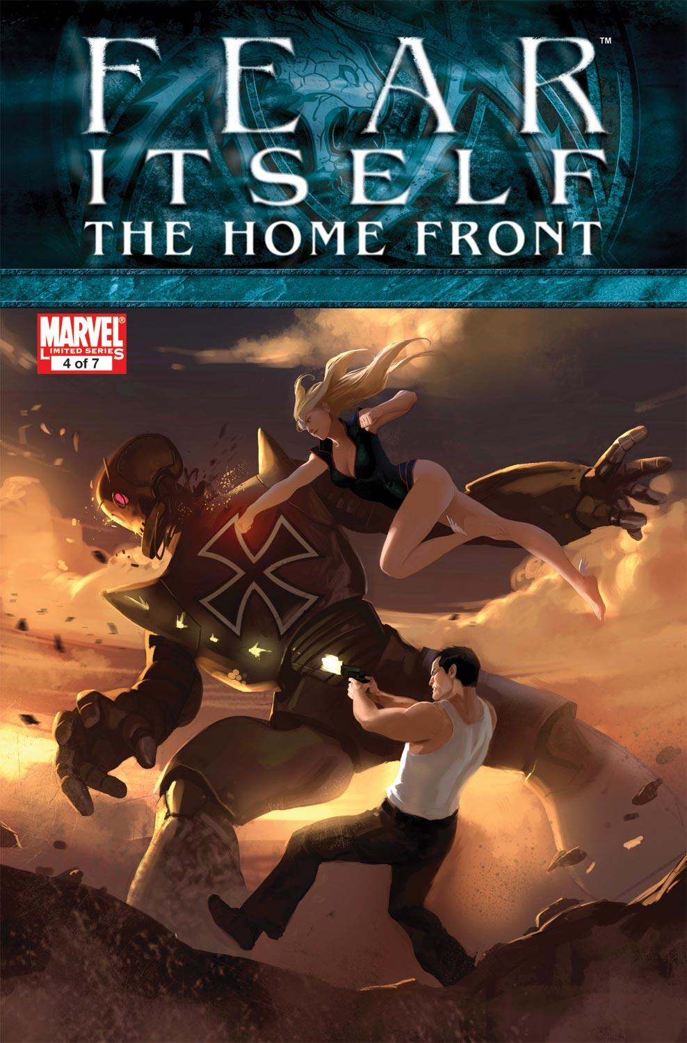 Fear Itself: The Home Front (2010) #4